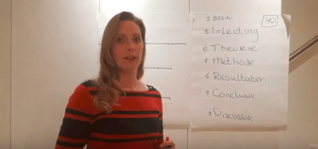 Hét stappenplan voor je scriptie